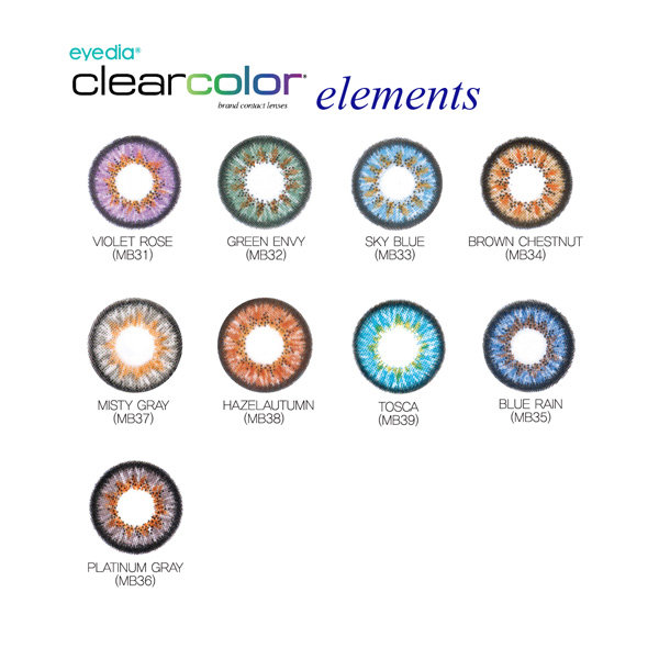 [Yearly] Eyedia ClearColor Torics (1 Pair)