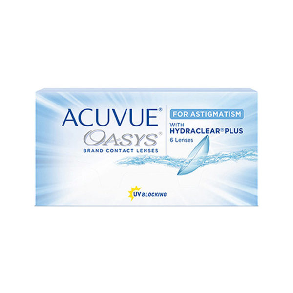 Acuvue Oasys Toric (6 Months)